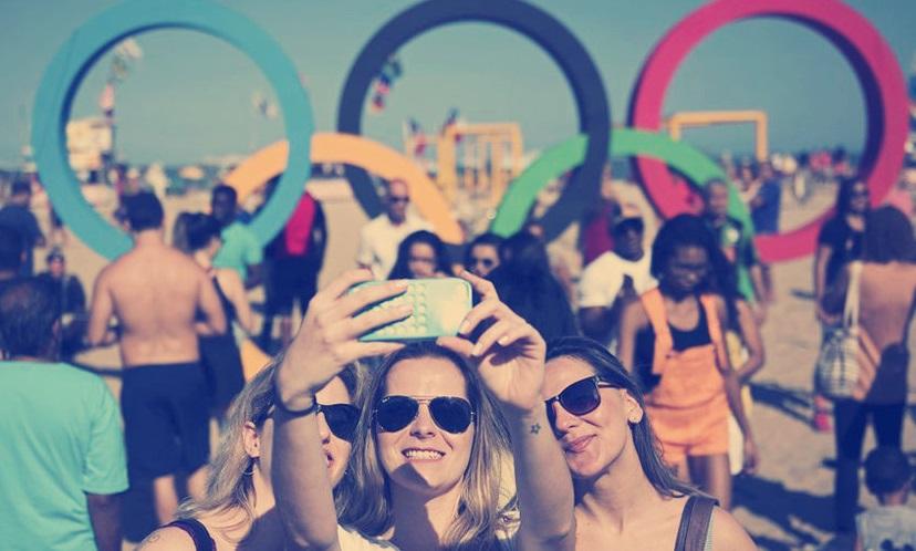 (SP)BRAZIL-RIO DE JANEIRO-TOURISM-OLYMPIC RINGS