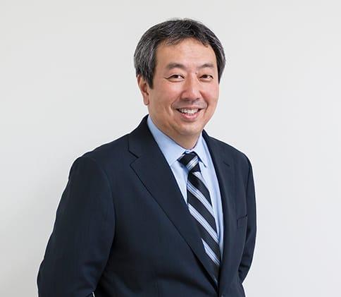 代表取締役社長三溝広志